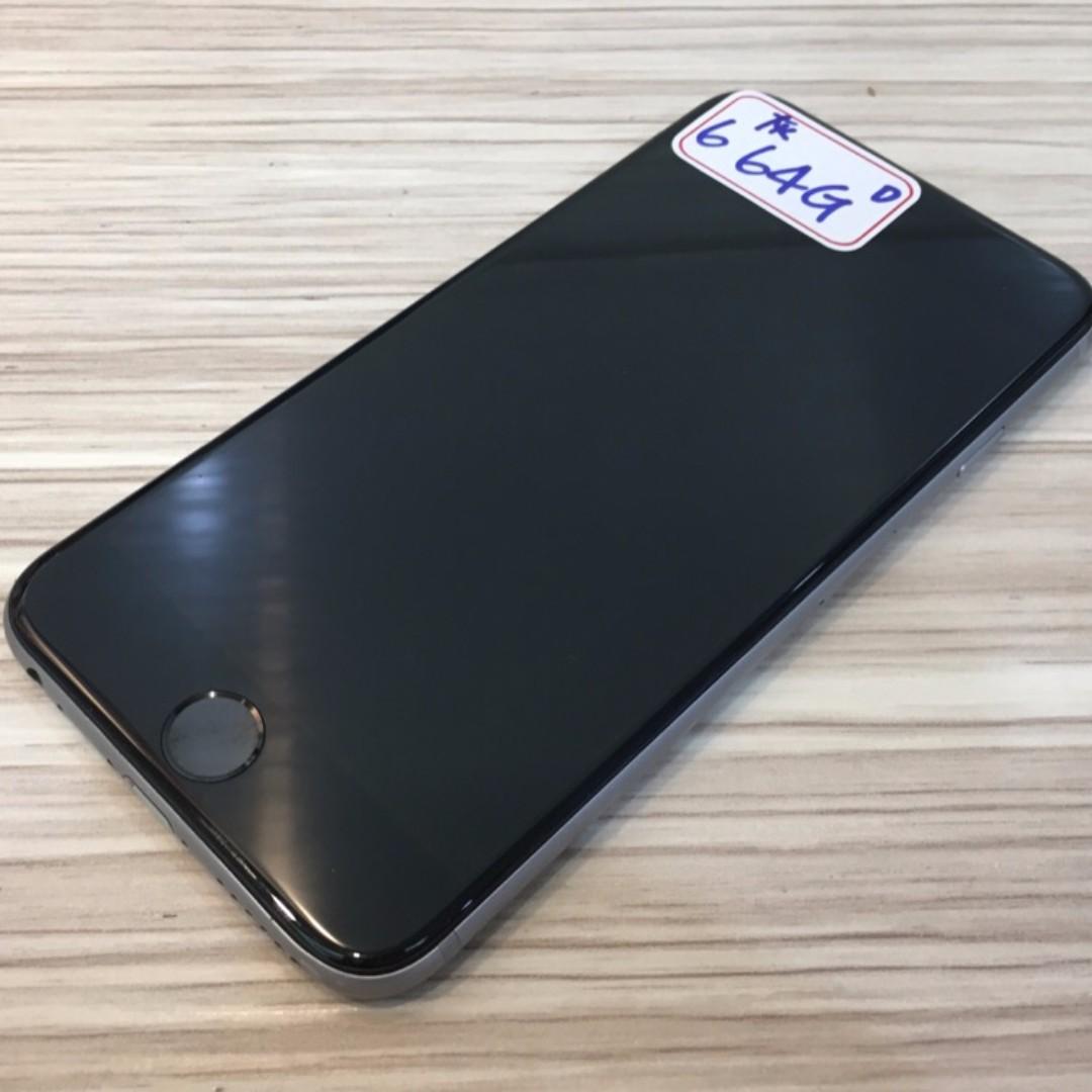 【鏢Phone】Apple iPhone 6 64GB 灰色 單手機 功能正常 8成5新 已過保固 歡迎面交 舊機可折抵