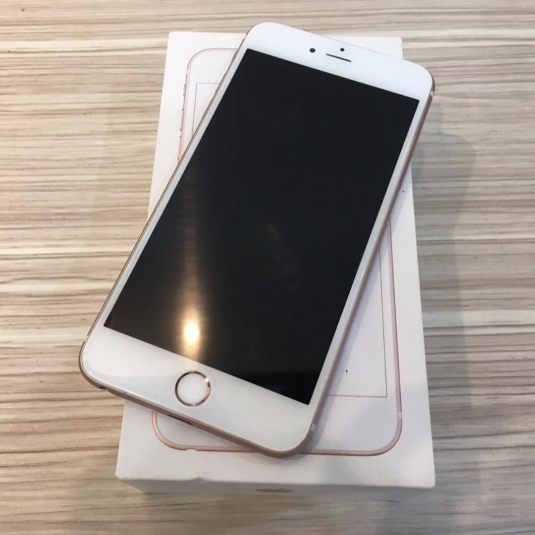 【鏢Phone】Apple iPhone 6S Plus 玫瑰金 128g 已過保固 此機換過殼 功能皆正常 歡迎面交