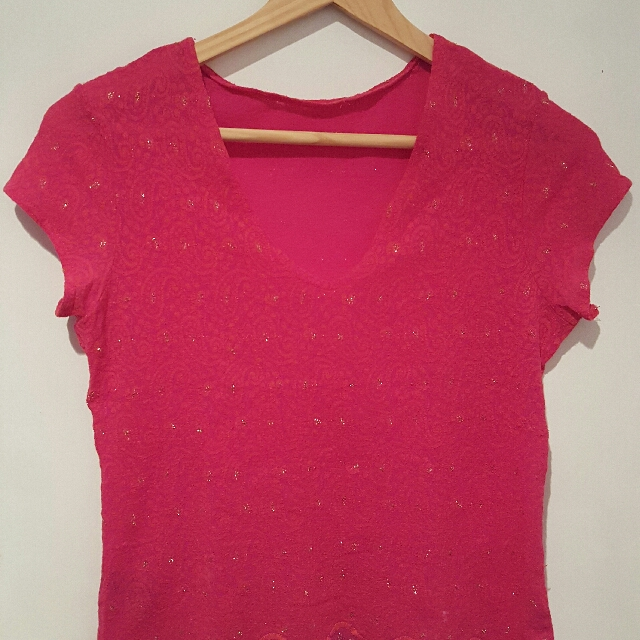 Pink top (size S)