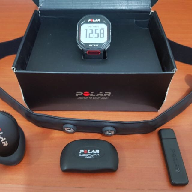 Polar RCX5 watch with heart rate monitor