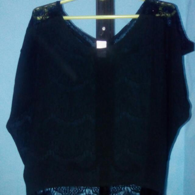 Preloved See-through Top