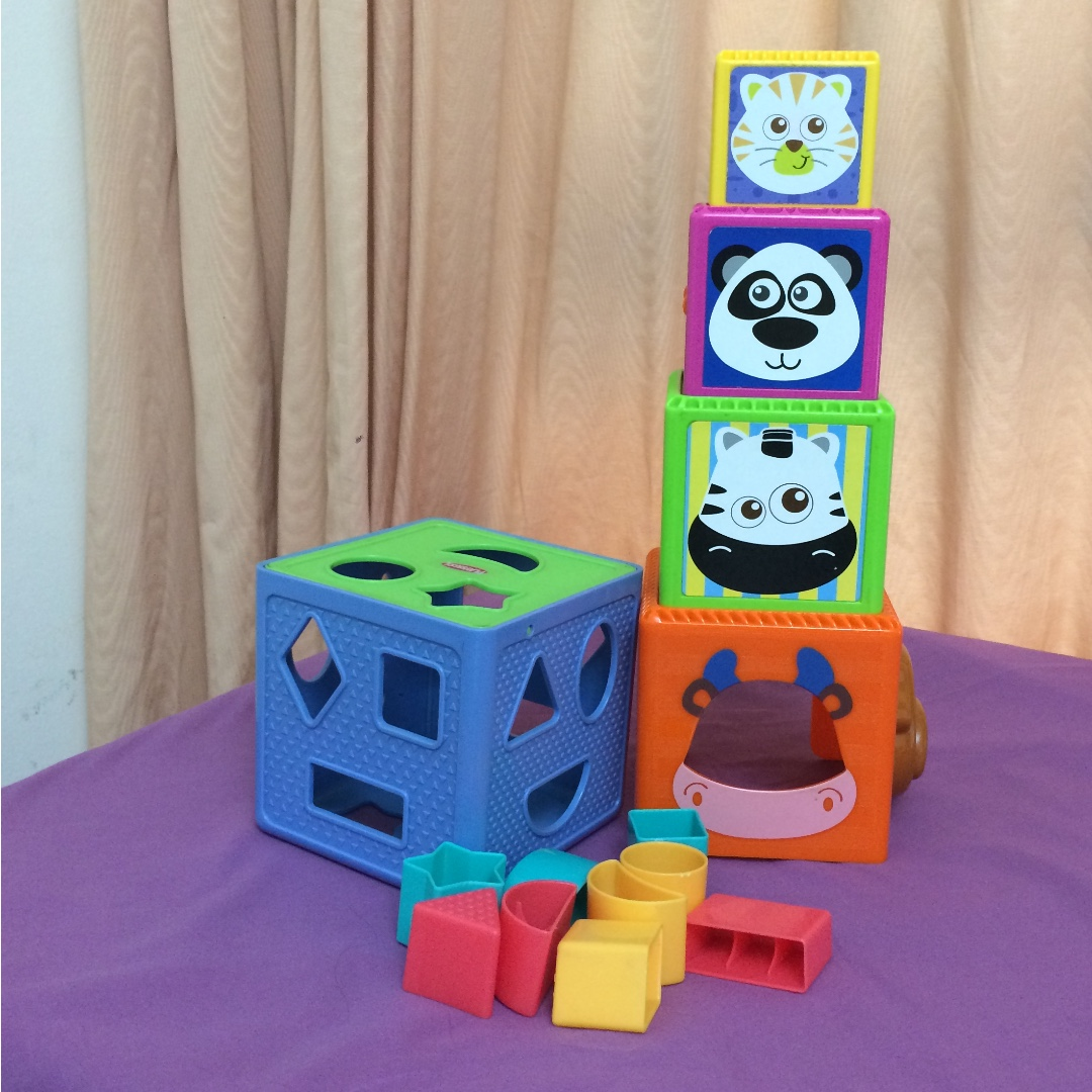 Preloved Shapes and stacking toys