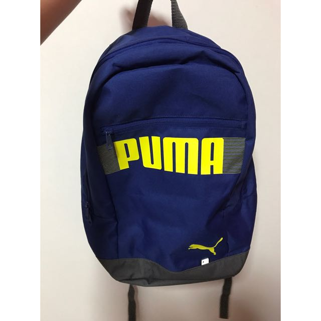 dbce5639ba0 Puma Blue Bag, Men s Fashion, Bags   Wallets on Carousell