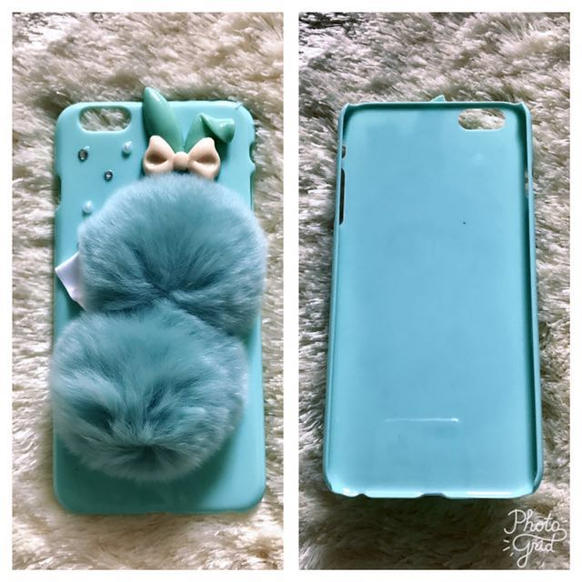 Rabbit Fur Case Iphone 6 Plus