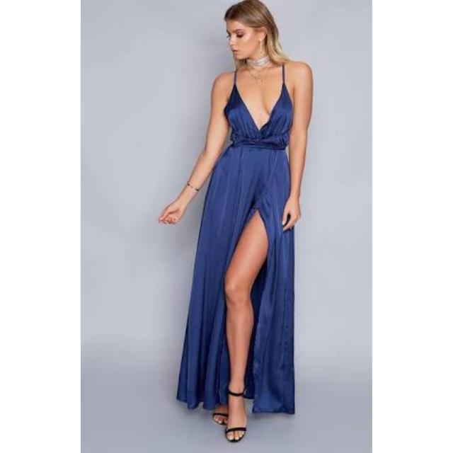 [RENT] Pandora Midnight Blue Dress, Size 6, Xs