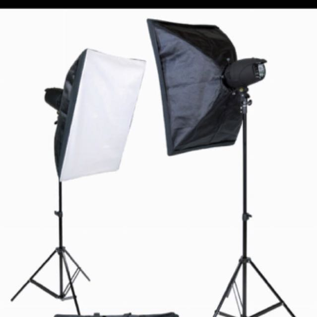 RENTING OUT : photography studio kit