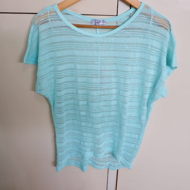REPRICED ⚡️Cotton On Teal Top