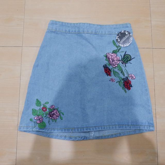 REPRICED ⚡️Denim Skirt