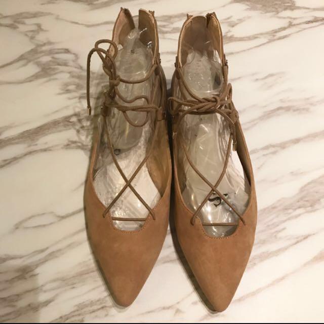 Sam Edelman 平底綁帶芭蕾舞鞋