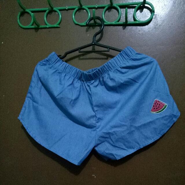 Short (blue)