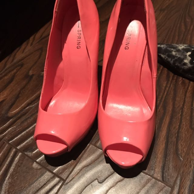 Spring High Heels size 8