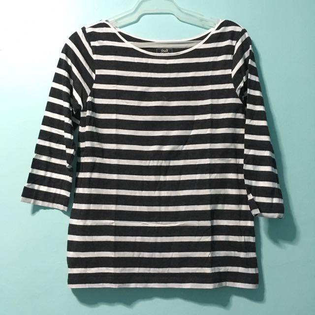 Stripes 3/4 Top