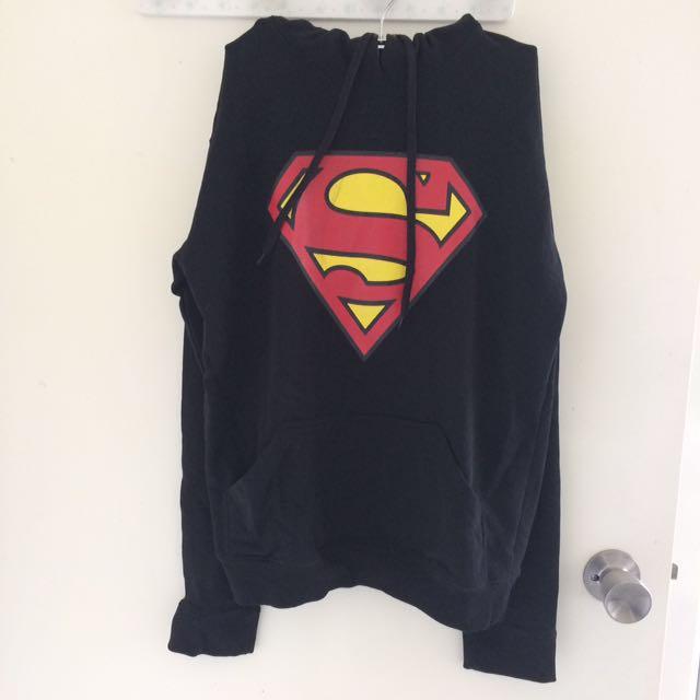 Superman hoodie size XS-S
