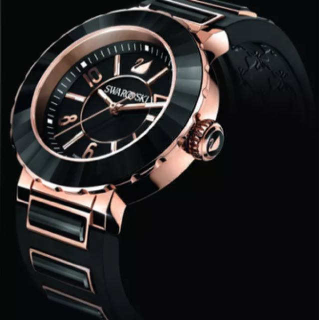 Swarovski Rose Gold Octea Sport watch
