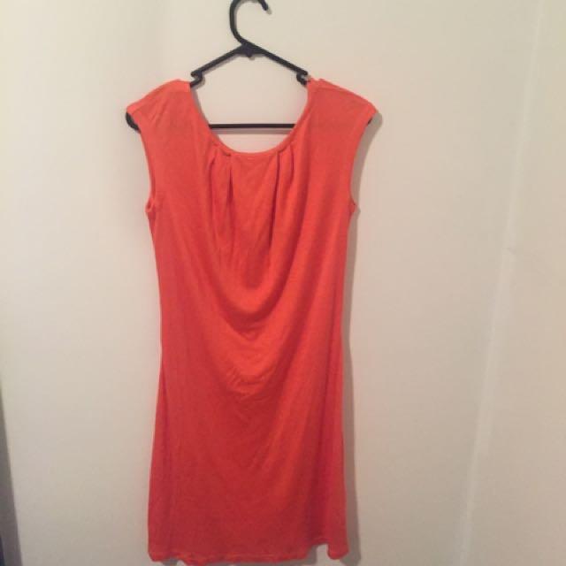 Ted Baker Dress 2 Orange