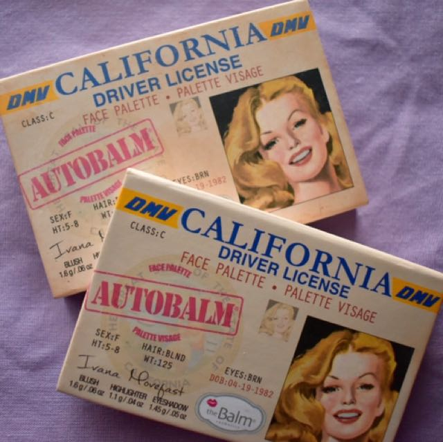 The Balm: California mini palette