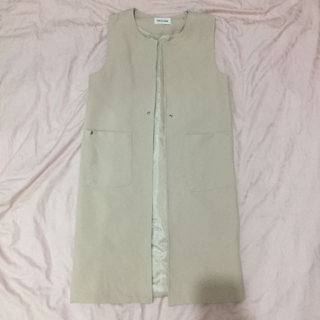 This Is April Nude Vest