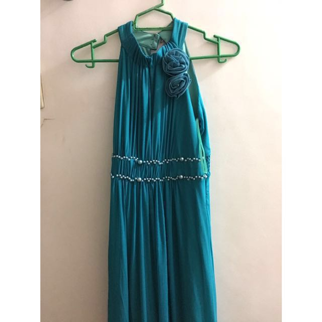 Turquoise Long Gown