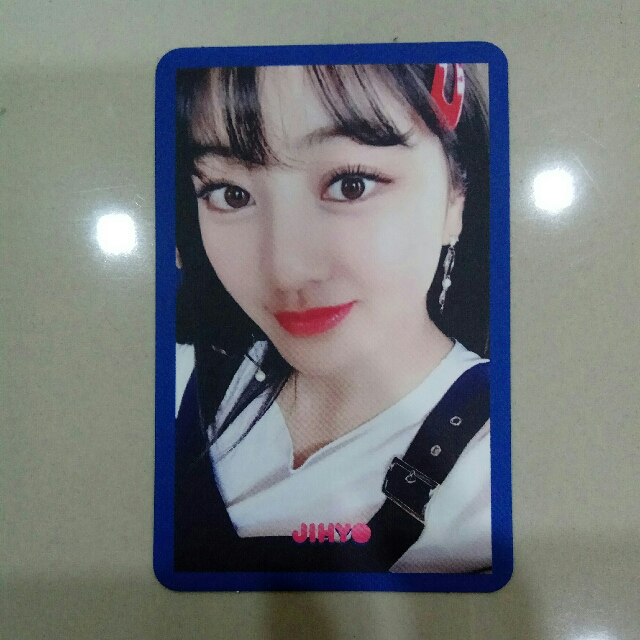 Twice Signal Jihyo Blue Pc