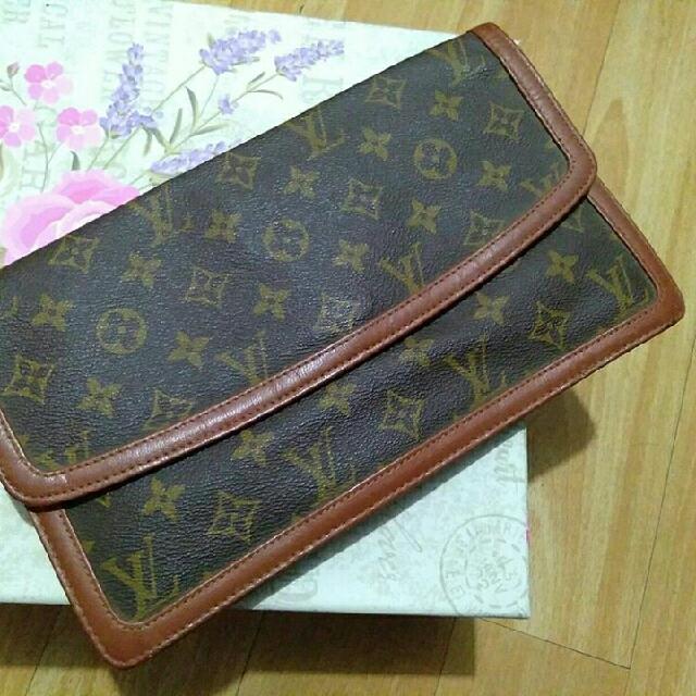 Vintage Louis Clutch Party Bag