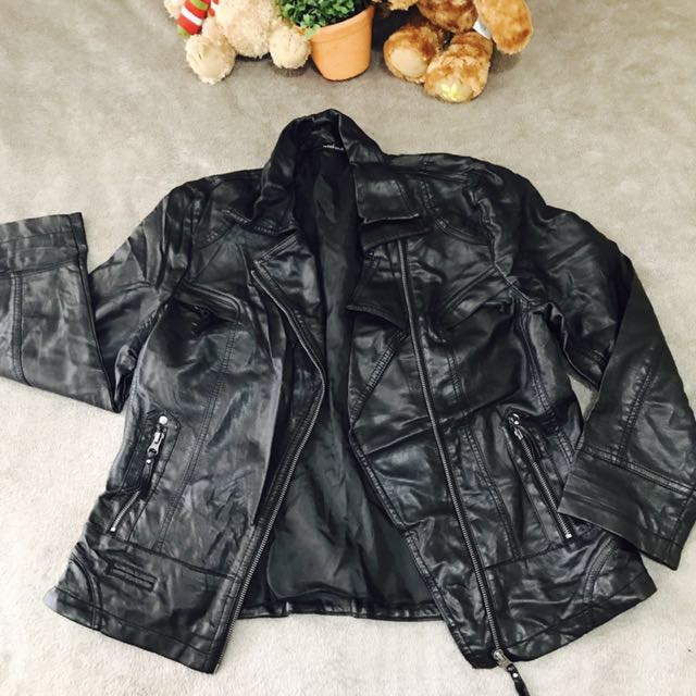 WEEKEND Faux Leather Jacket