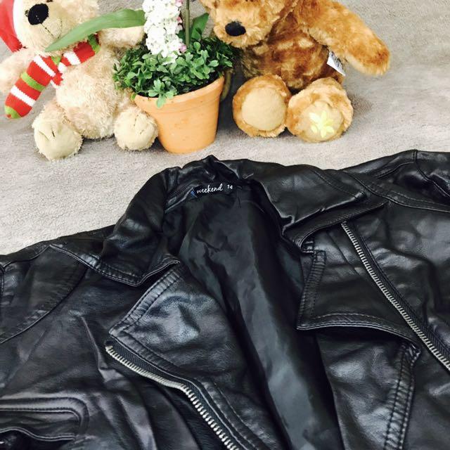 WEEKEND Faux Leather Jacket