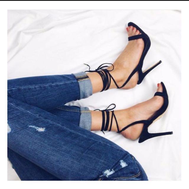 Windsor Smith Crystal Heels