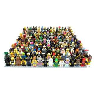 LEGO MINIFIGURES SERIES 3 TO 11