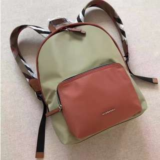Burberry House Check Strap Backpack