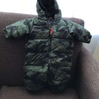 Baby Gap Camouflage Snowsuit