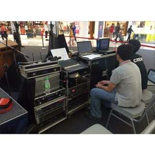 For Hire - AV Technical Audio Visual Service / Stage Manager / Usher/ Photographer. Working experience with microphones, getting speaker/ slides ready, switching between laptops. Familiar with Microsoft office, Powerpoint