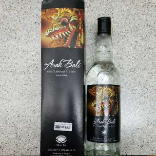 100%New ARAK BALI Traditional Rice Spirit