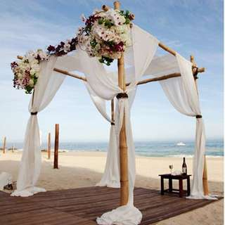 Wedding ROM Solemnisation Event Venue Deco Romantic 4 Sided Arch