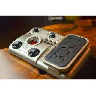 ZOOM G1XN 綜合效果器  模擬真空管聲音 (九成新)