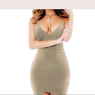 Coctail Dress / Beige