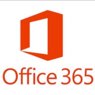Office 365 & 1TB OneDrive - 5 PC/MAC