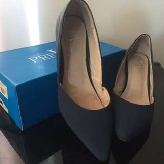 Blue PreView Heels
