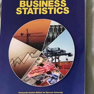 QMS 102 - Business Statistics 13th Edition