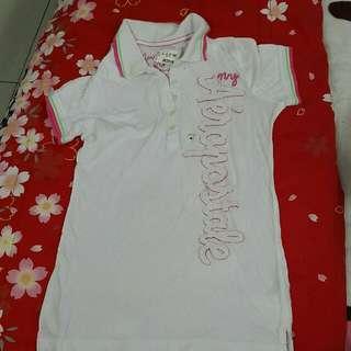 aeropostale polo shirt,size M