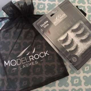 MODEL ROCK Double Diva 3 pair lashes multi layered