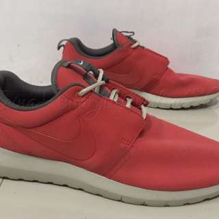 Authentic Nike Roshe Run NM Pure Suede University Red