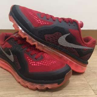 Authentic Nike Air Max 14 Gym Red