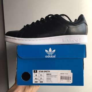 Stan Smiths (Black and White)