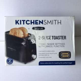 BELLA Kitchen Smith 2-Slice Toaster