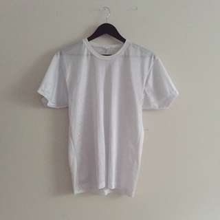 America Apparel White Jersey