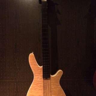 Fretless Bass Guitar Super High Quality