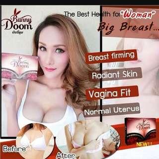 Thailand #1 Best selling breast enhancement bust enlargement cream & pill Bigger breast bust firm (Better than Bikinii Boomz boom)