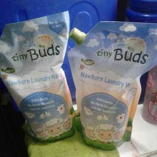 tiny buds laundry wash