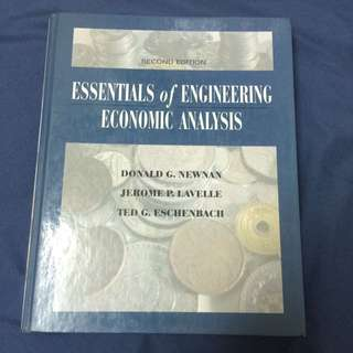 🚚 工程經濟essentials of engineering economic analysis