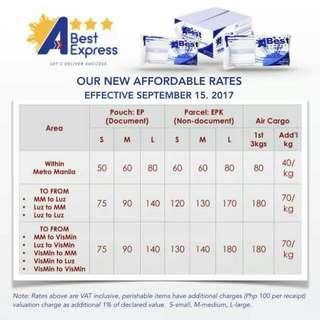 Price Rates (ABEST & JRS)